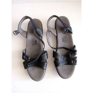 SAS Tripad Sandal 10.5 Comfort Black Leather